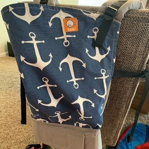 Tula toddler carrier in Anchors